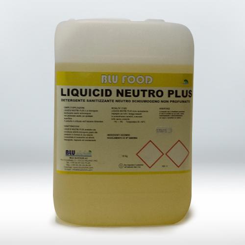 Detergente neutro concentrato schiumogeno ad attività sanitizzante