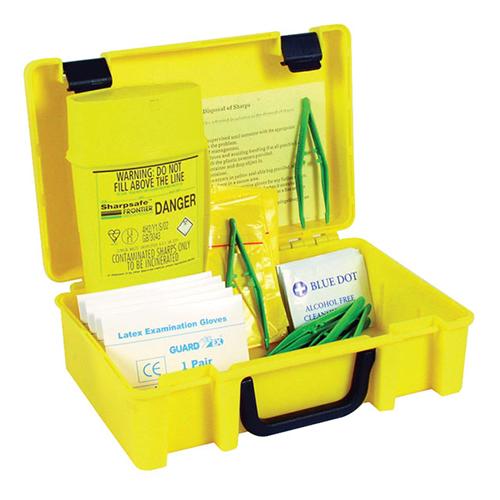 Kit di raccolta fuoriuscita materiale Biohazard