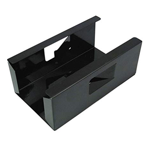 Dispenser in metallo nero