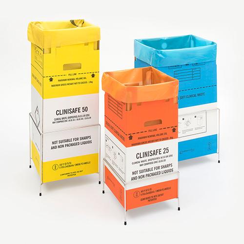 Contenitore di rifiuti clinici per incenerimento 25L