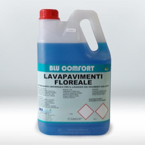 Detergente profumato specifico per il lavaggio meccanico e manuale dei pavimenti